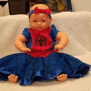Marvel Spidergirl dress & headband